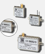 HM narrow band radio modules